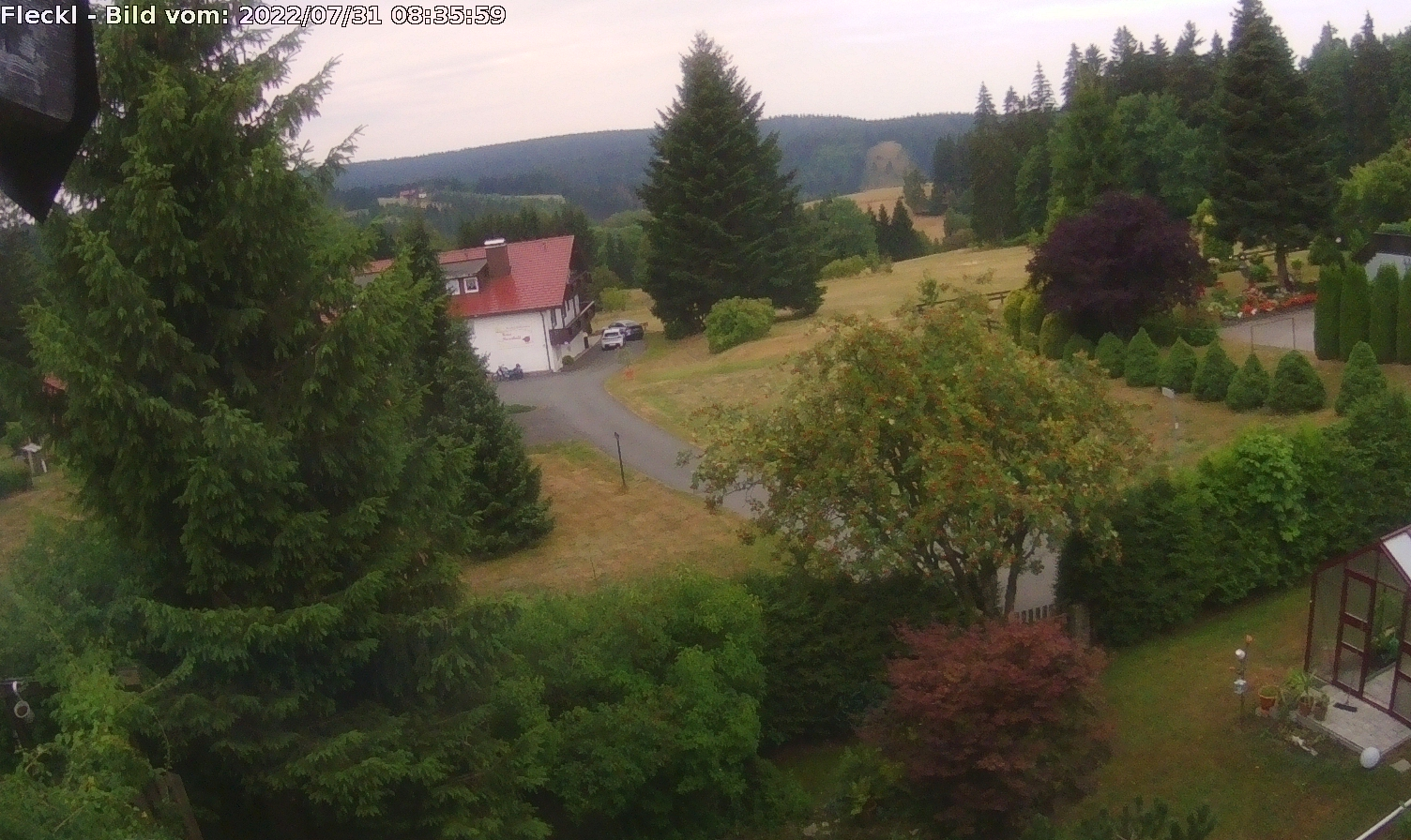 Webcam Fleckl Warmensteinach Fichtelgebirge Wetter